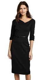Black Halo 3 4 Sleeve Jackie O Dress at Shopbop