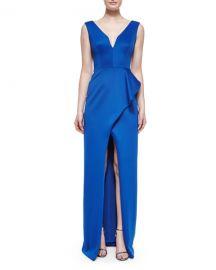 Black Halo Hendricks Sleeveless Column Dress at Neiman Marcus