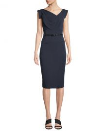 Black Halo Jackie Sheath Dress at Neiman Marcus