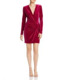 Black Halo Lara Velvet Mini Dress - 100  Exclusive Women - Bloomingdale s at Bloomingdales