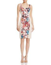 Black Halo Sadie Floral-Panel Dress - 100  Exclusive at Bloomingdales