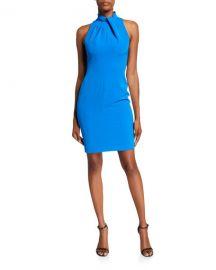 Black Halo Zana Sleeveless Sheath Dress at Neiman Marcus