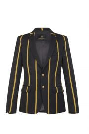 Black Jacket with Yeollow Stripes at Lords and Fools