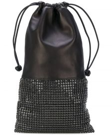 Black Leather Handbag by Alexander Wang at Bluefly