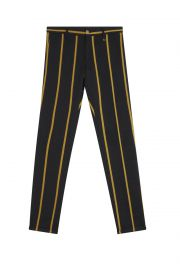 Black Pant with Yeollow Stripes at Lords and Fools