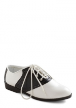 Black and white oxfords from Modcloth at Modcloth