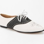 Black and white oxfords from Urban Outfitters at Urban Outfitters