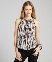 Black and white top by Greylin at Bluefly