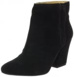 Black ankle boots by Nine West at Amazon