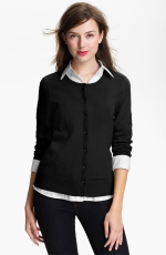 Black cardigan at Nordstrom at Nordstrom