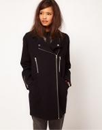 Black coat like Reginas at ASOS at Asos