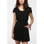 Black dress at Urban Outfitters at Urban Outfitters
