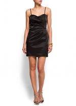 Black dress by Mango at Mango