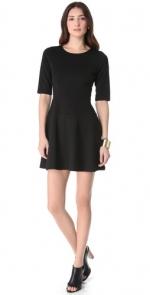 Black elbow sleeve dress by Club Monaco at Shopbop