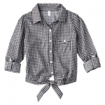 Black gingham check shirt at Target at Target