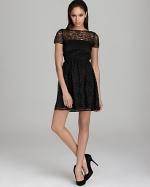 Black lace dress at Bloomingdales at Bloomingdales