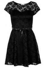 Black lace dress at Topshop at Topshop