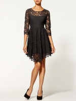 Black lace dress by Free People at Piperlime