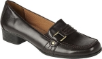 Black loafers like Betseys at Amazon