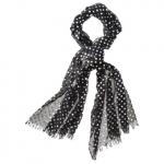Black polka dot scarf from Target at Target