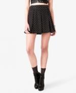 Black polka dot skirt at Forever 21 at Forever 21