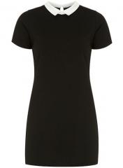 Black ponte shift dress at Dorothy Perkins