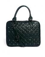 Black quilted laptop bag like Melissas at Asos