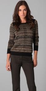 Black shoulder sweater like Rachels at Shopbop