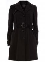 Black trenchcoat like Rachels at Dorothy Perkins