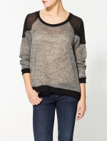 Black trim pullover at Piperlime at Piperlime