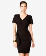 Black vneck dress from Forever 21 at Forever 21