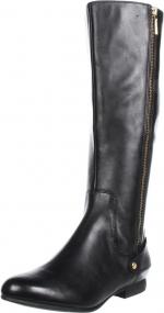 Black zip up boots like Emmas at Amazon