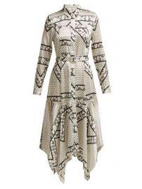 Blakely scarf-print silk-blend dress at Matches