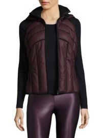 Blanc Noir - Aura Quilted Vest at Saks Fifth Avenue