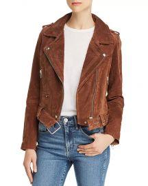 Blank NYC  Suede Moto Jacket at Bloomingdales