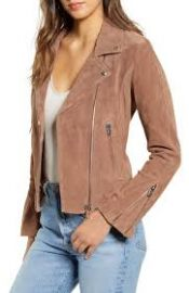 Blank NYC Next Level Suede Moto Jacket at Nordstrom