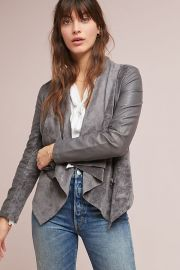 Blank NYC Odyssey Draped Coat at Anthropologie