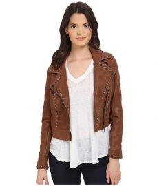 Blank NYC Rocky Rode Jacket Brown at 6pm
