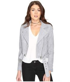 Blank NYC Suede Moto Jacket at Zappos
