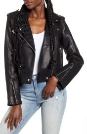 BlankNYC Semi Fitted Faux Leather Jacket at Nordstrom