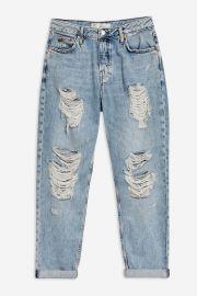 Bleach Super Ripped Hayden Boyfriend Jeans at Topshop