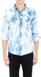 Bleach Washed Western Shirt by NSF at Barneys Warehouse