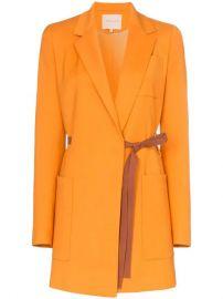Bleyda ribbon tie wrap blazer jacket at Farfetch
