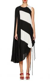 Block-Striped Crepe Maxi Dress at Barneys
