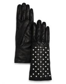 Bloomingdale  x27 s Beaded Leather Gloves - 100  Exclusive  Jewelry  amp  Accessories - Bloomingdale s at Bloomingdales