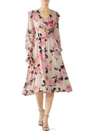 Blooms Smocked Dress by Pinko at Rent The Runway