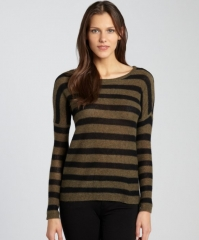 Bloomsbury Stripe Sweater by Line at Bluefly