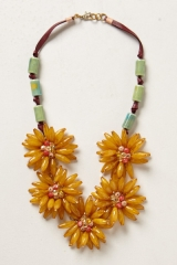 Blossomed Garland Necklace at Anthropologie
