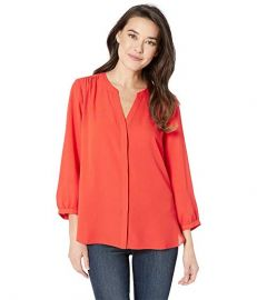 Blouse w/ Pleated Back at Zappos