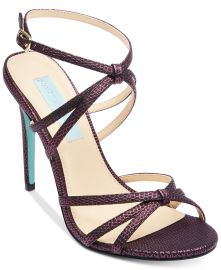 Blue by Betsey Johnson Myla Evening Sandals at Macys